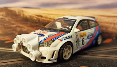 Ford Focus WRC Rally Montecarlo Scalextric