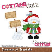 http://www.scrappingcottage.com/cottagecutzsnowmanwsnowballs.aspx