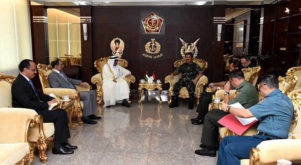 Panglima TNI Terima Kunjungan Kehormatan Dubes Uni Emirat Arab