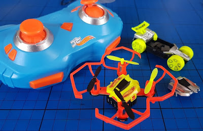 Hot Wheels RC Drone Racerz Drone and Vehicle Set Review for Bladez (8+)