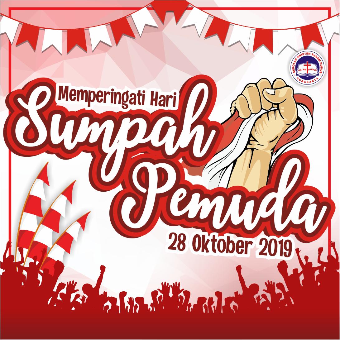 Selamat Hari Sumpah Pemuda 28 Oktober 2019