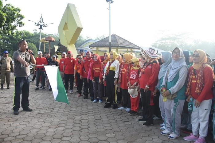 Bupati Tubaba H Umar Ahmad SP Memperingati Hari Ibu Ke 91 2019