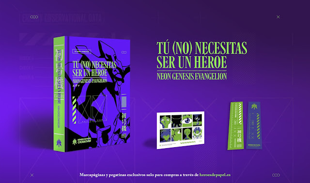 Héroes de Papel nos trae un libro sobre Neon Genesis Evangelion