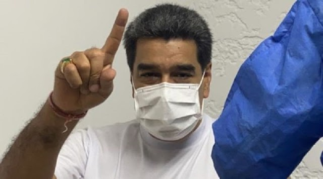 Presidente Nicolás Maduro se vacunó con la primera dosis de Sputnik V