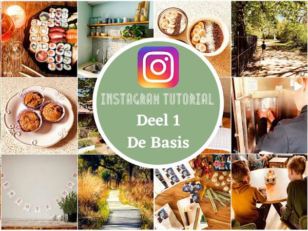 Instagram Tutorial Deel 1 - De Basis