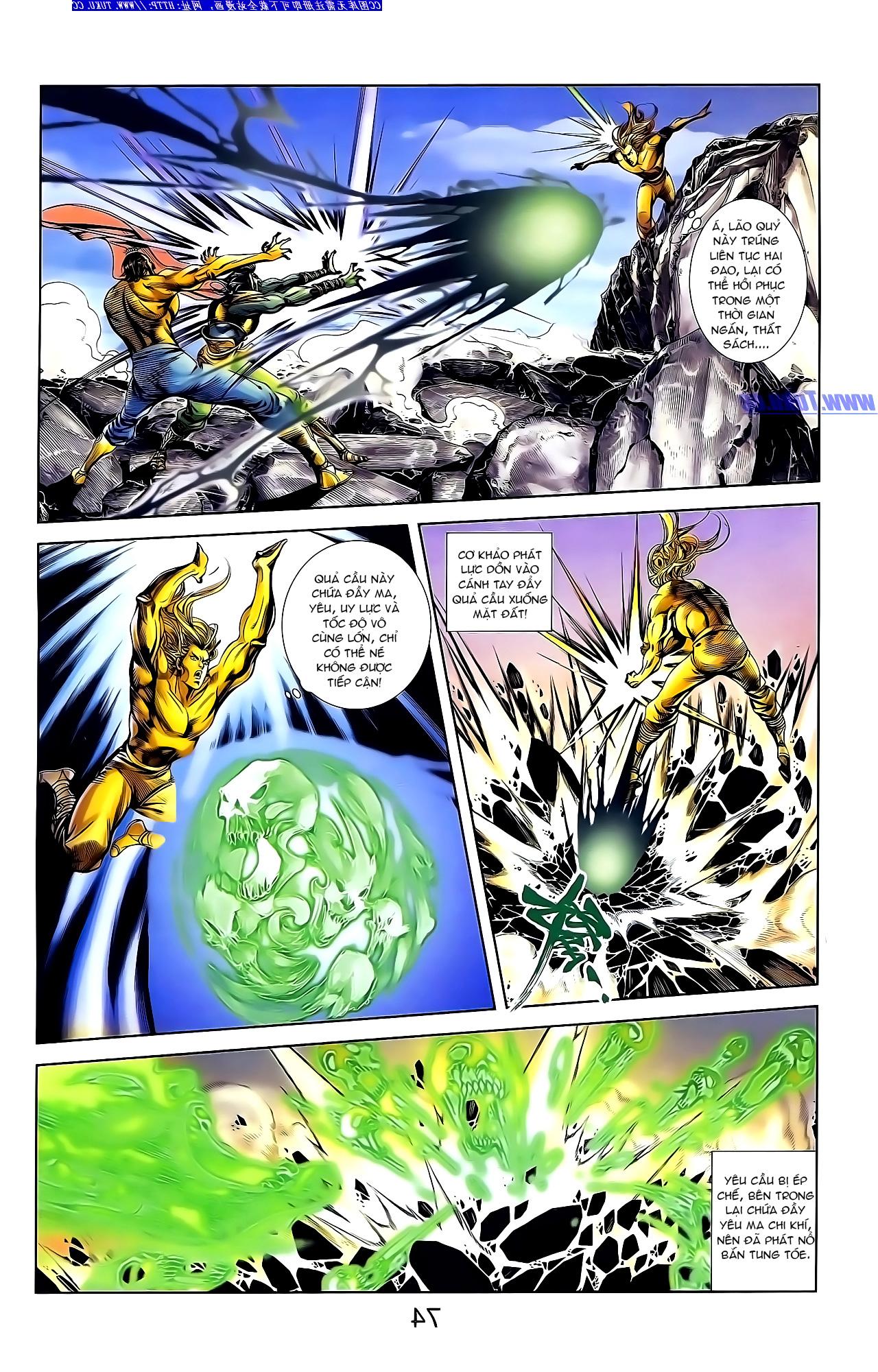 Cơ Phát Khai Chu Bản chapter 148 trang 8
