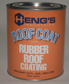 1 Gallon Rubber Roof Coating Sealant Acrylic Latex Polymer Hengs Part #  46128 classacustoms