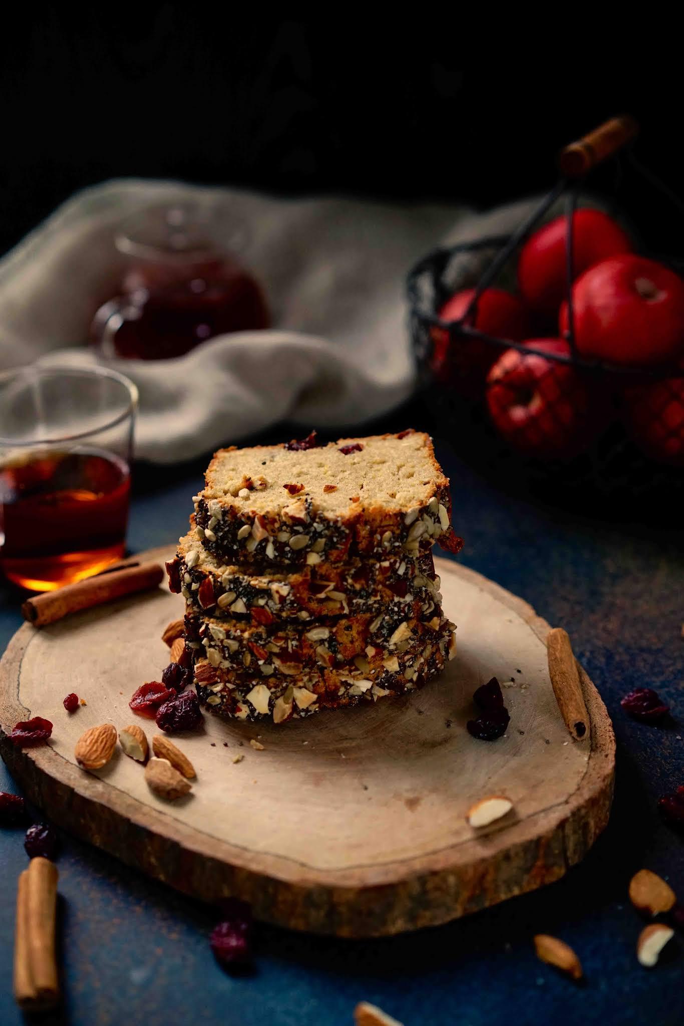 Cake , automne , gâteau aux pommes