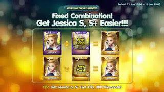 Trik Dapatkan Kartu Jessica S/S+ LINE Let's Get Rich