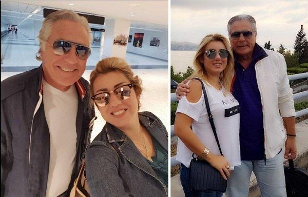 مصطفى فهمى وزوجته الجميلة