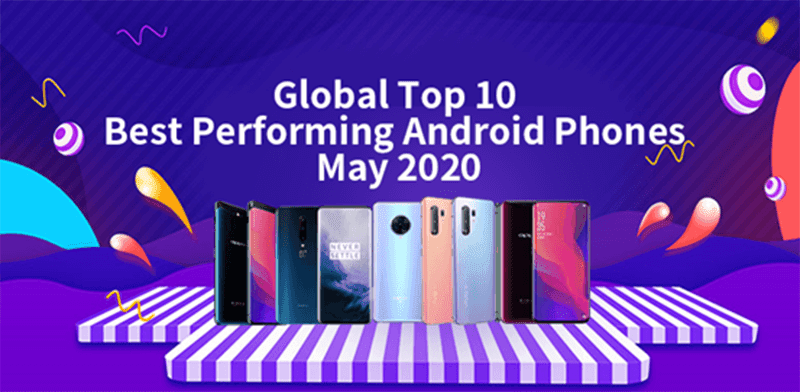 Xiaomi dominates AnTuTu's list of top performing Android flagship and mid-range phones (May 2020)