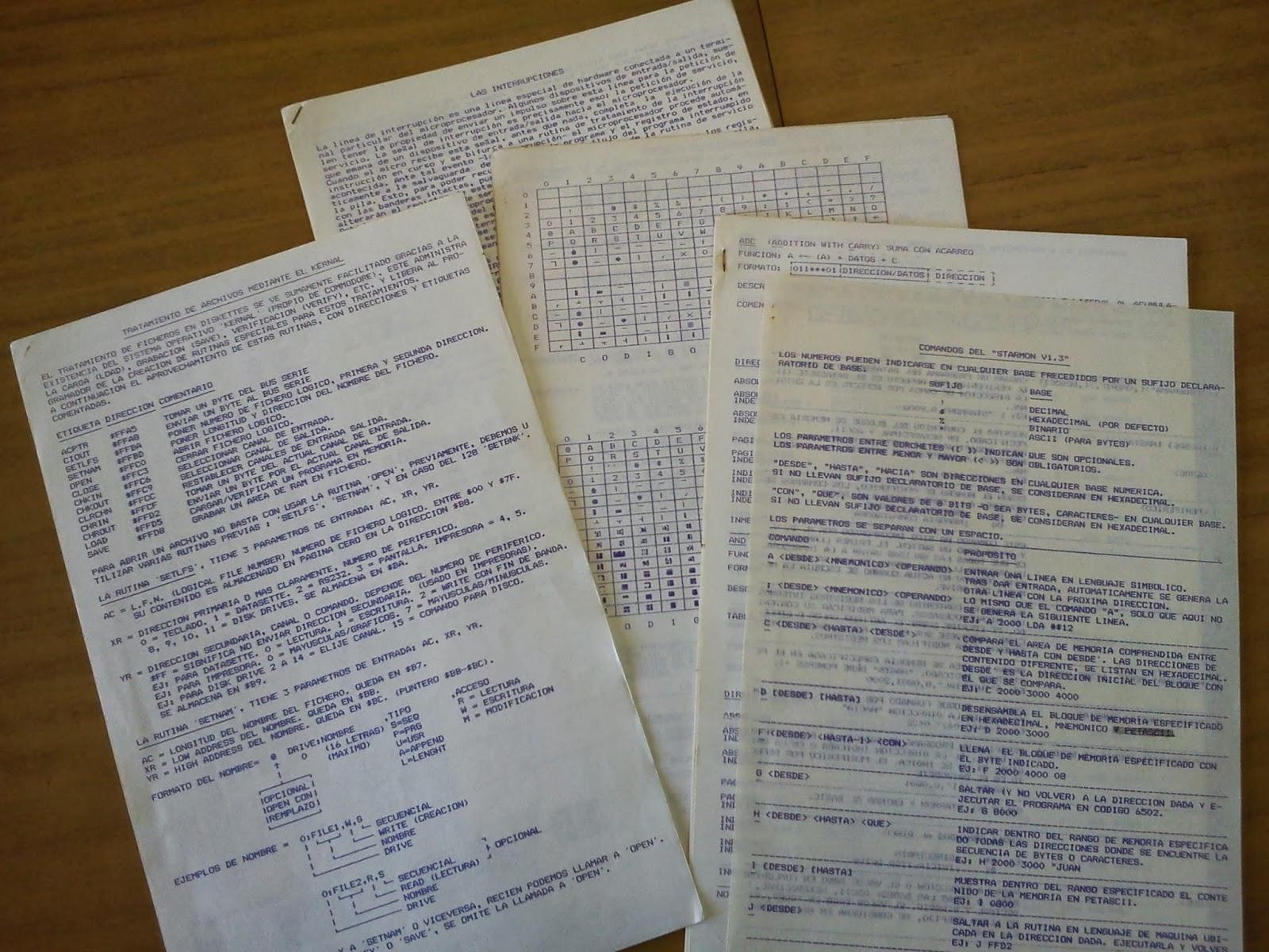 Material del curso de ensamblador para C64