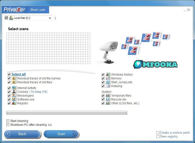 برنامج تنظيف الجهاز من الملفات الزائدة ويندوز 10