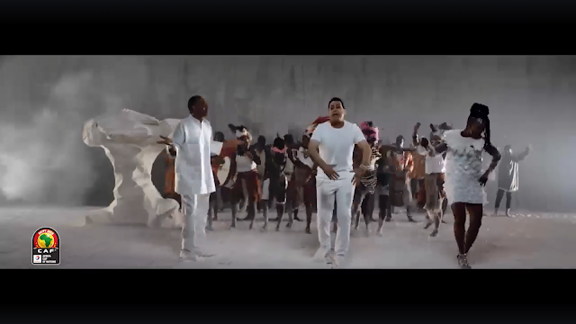 """الأغنية الرسمية لكأس الأمم الأفريقية """"متجمعين"""""""