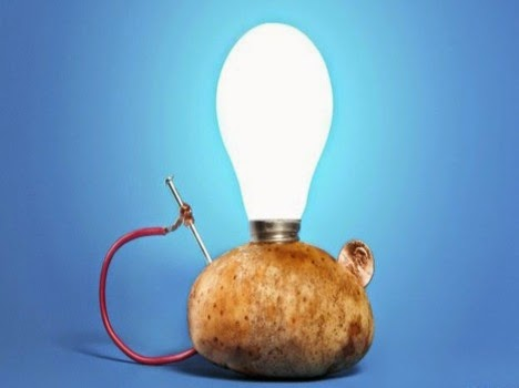 How To Light Up A Light Bulb With A Potato 75