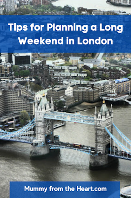 Tips for planning a long weekend in London post covid-pandemic. How to ensure you have the best value and most enjoyable stay.