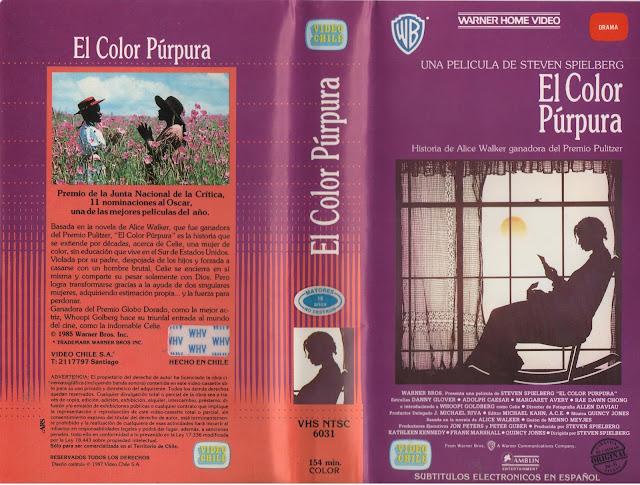 """Pelicula: """"El Color Purpura"""" - 1985"""