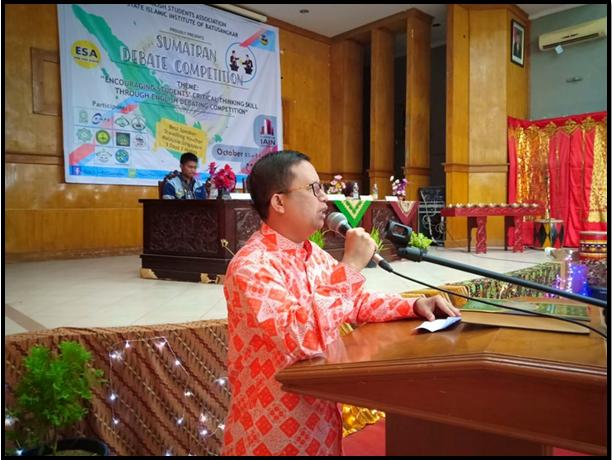 Himpunan Mahasiswa FTIK IAIN Batusangkar Angkatkan Acara Debat Dalam Bahasa Inggris Se-Sumatera