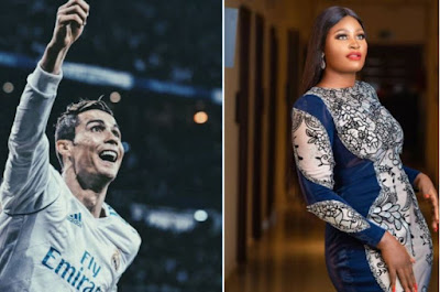 """""""You Made Me Fall In Love With Football"""" - Actress, Chizzy Alichi Wishes Ronaldo A Happy Birthday"""