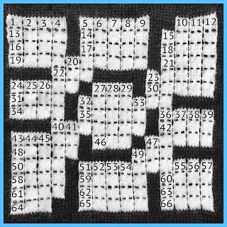 knitted crossword by TECHknitter https://techknitting.blogspot.com/2021/03/knitting-crossword-by-techknitter.html