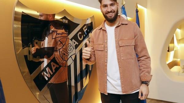 Oficial: El Málaga renueva hasta 2023 a Gonzalo
