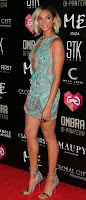 Alesha Dixon best red carpet dresses at Ibiza Global Gift Party in spain