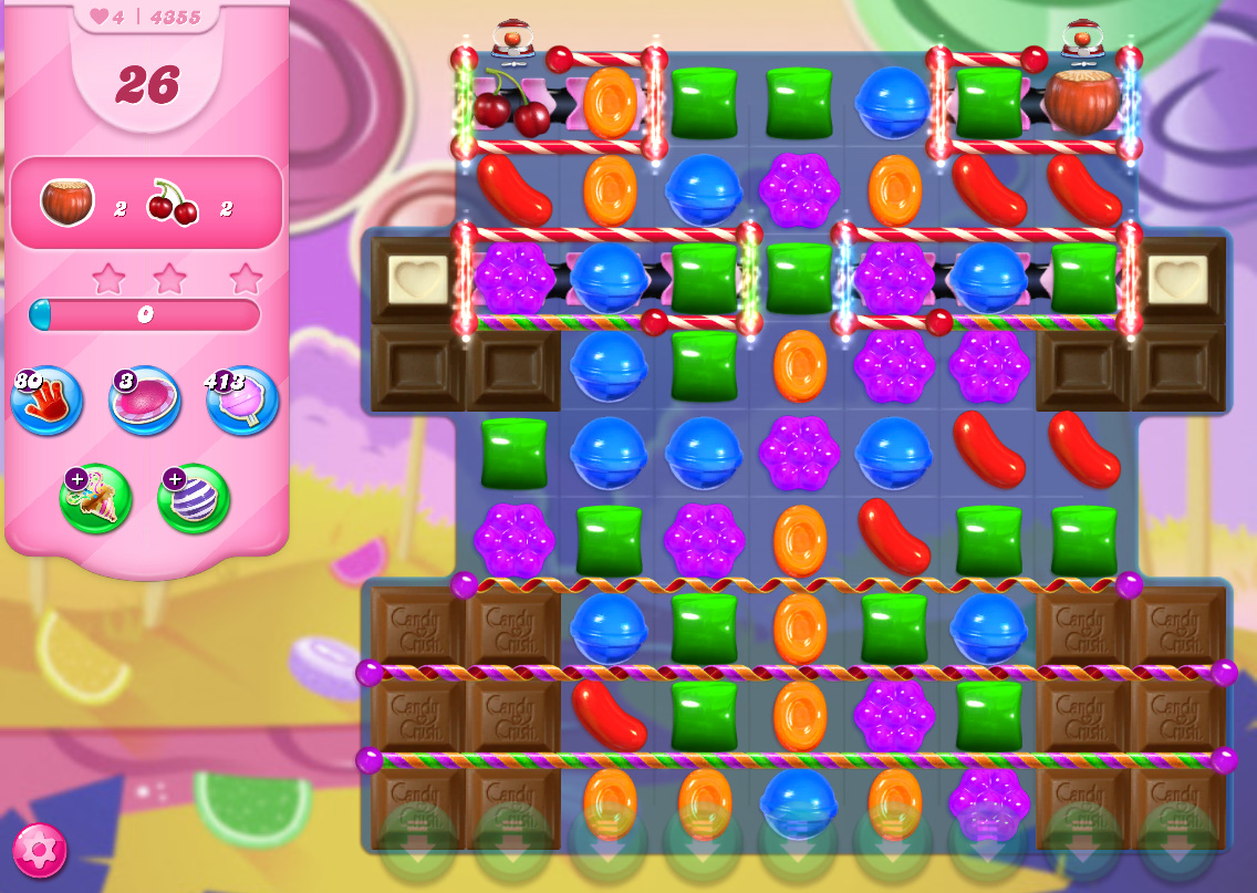 Candy Crush Saga level 4355