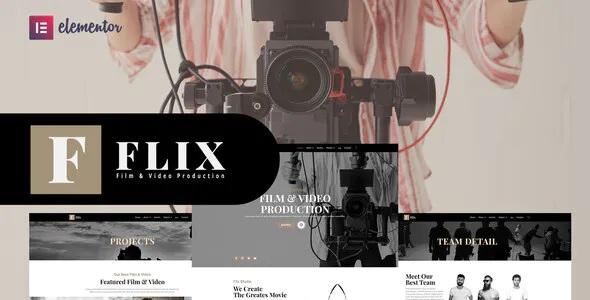 Best Film & Video Production Elementor Template Kit