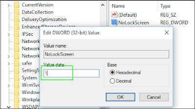 Cara Menonaktifkan Lock Screen di Windows 10