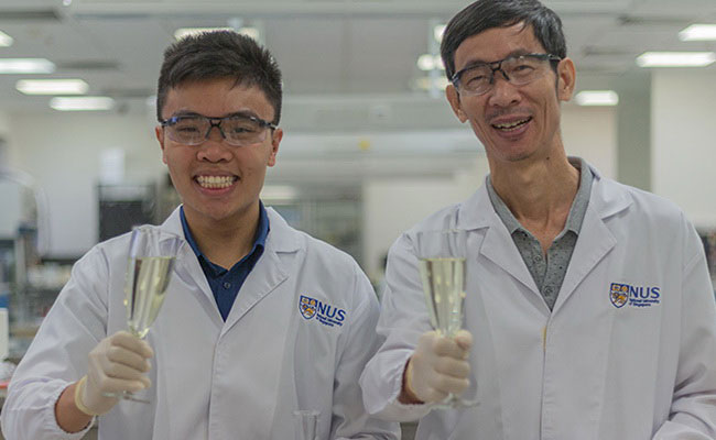 Tinuku NUS researchers create Sachi wine from tofu waste