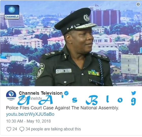 Police drags Senate to court over IG invitation, gives reasons why he can't be invited again