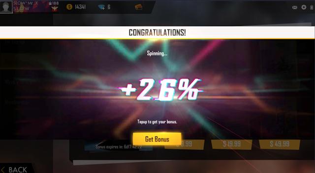 Bonus Mystery Top Up Akhirnya Hadir Buruan Spin Up to 75%