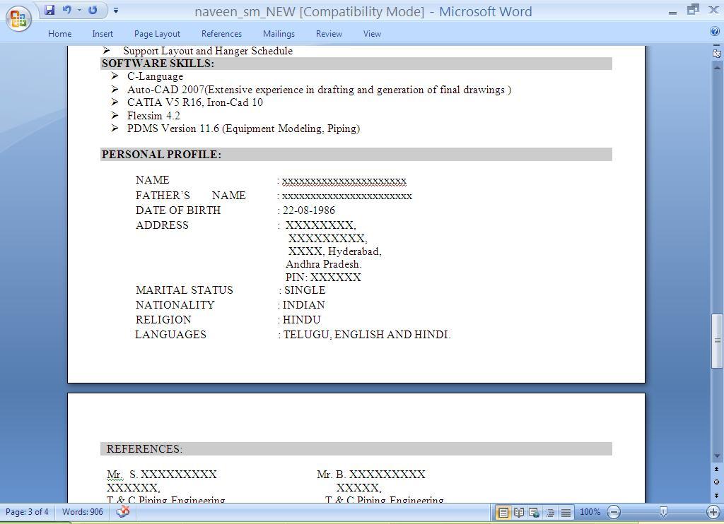 Best Resume Font, The Creative Group - Robert Half