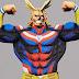 My Hero Academia All Might Figure Manga Dimension