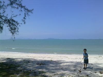 Sibu Island view from Tanjung Leman