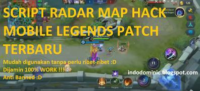 Script Map Hack Mobile Legends Patch Terbaru