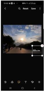 Cara Menambahkan Watermark di Foto samsung Galaxy S10