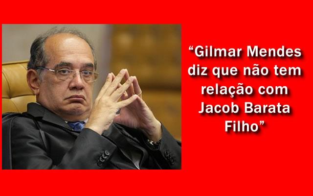 Ministro Gilmar Mendes manda soltar Jacob Barata Filho.