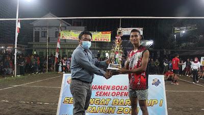 "Turnamen Bola Volly Semi Open ""Semangat Baru Cup I 2021"""