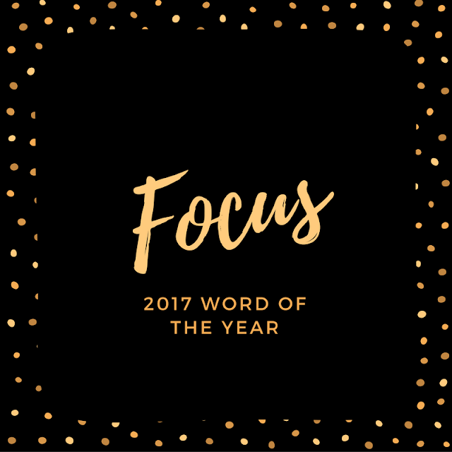 word of the year: focus