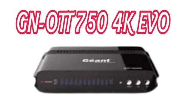 GN-OTT 750 4K EVO