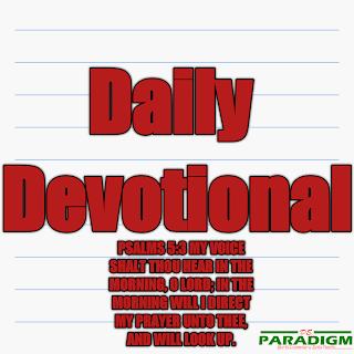Today's Devotion |Thurs| [CHRISTIAN WITNESSING (I)]