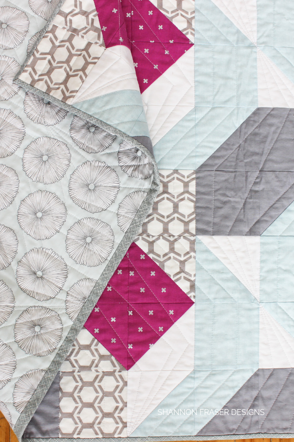 Rocksteady | Modern quilt pattern by Suzy Quilts | Shannon Fraser Designs #quilts