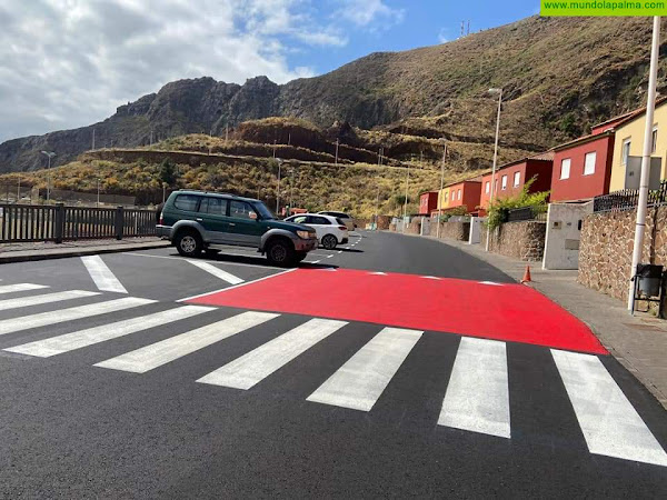 El Ayuntamiento de Breña Alta culmina el asfaltado de la calle Benito Pérez Galdós, en el Valle La Luna