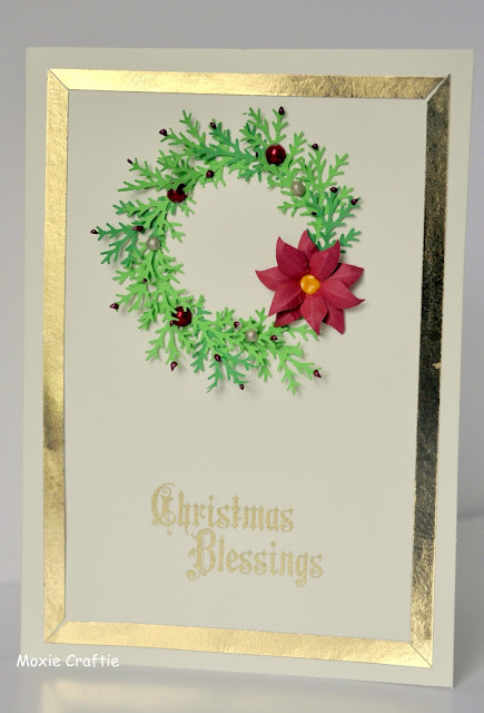Christmas Blessings Wreath