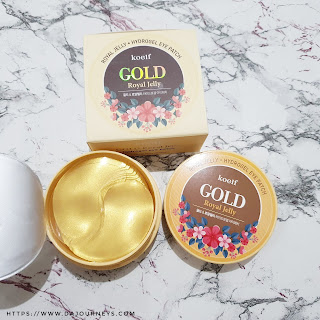 Review Koelf Petitfee Gold Royal Jelly Hydro Gel Eye Patch