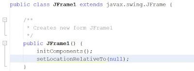 Cómo centrar JFrame o JDialog en la pantalla