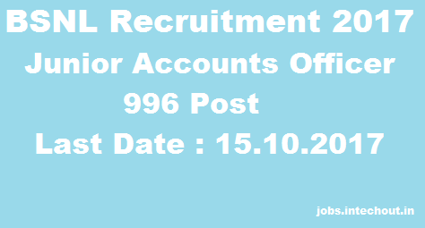 bsnl-jao-recruitment-2017-996-post