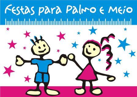 FESTAS para PALMO e MEIO logo