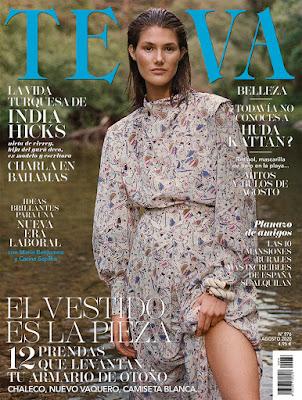 Revista Telva agosto 2020 noticias moda y belleza mujer